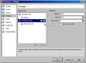 LFS Add Disk