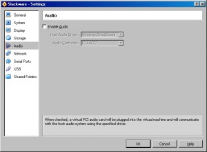 Slackware Audio Settings