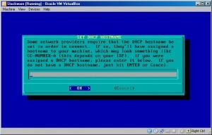 Slackware DHCP Hostname