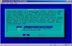 Slackware LILO