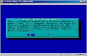 Slackware Password