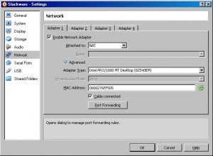 Slackware Port Forwarding