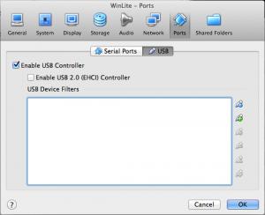 WinLite USB Ports