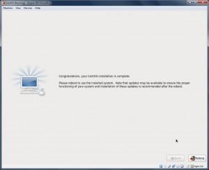 CentOS_Installation_Complete